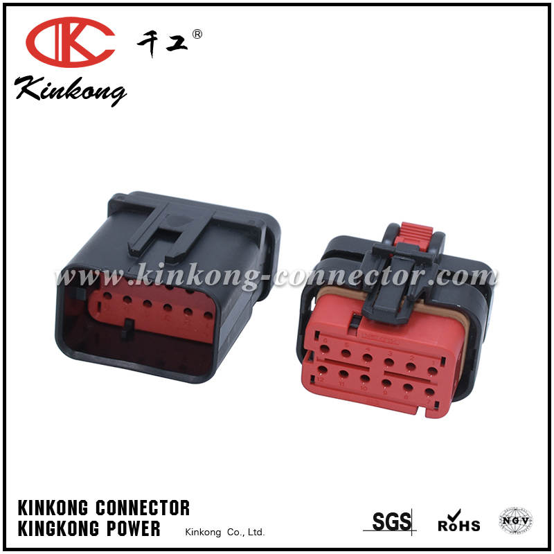 776437-1 12 ways automotive electrical connector for CAT Excavator CKK3125R-1.5-21
