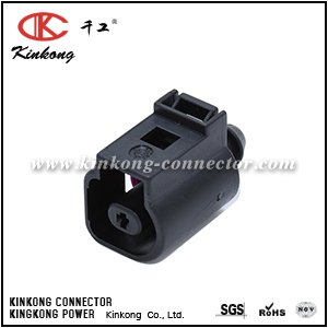 1J0 973 701 1 Pin Female Sealed Waterproof Auto Connector For VW CKK7015-1.5-21