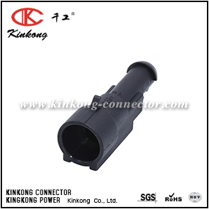 282103-1 1 pin male car plug CKK7011-1.5-11