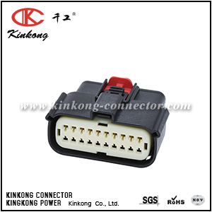 33472-2006 20 hole female crimp connector CKK7201BA-1.0-21