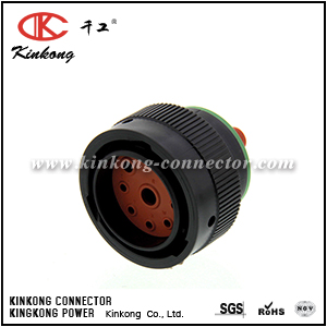 HDP26-24-9PN 9 pin male automobile connector