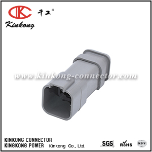 DT04-6P-E008 6 pin male cable connector