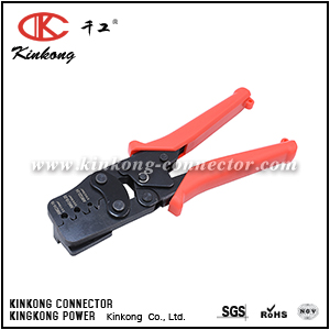 ONE-STEP WEATHER PACK CRIMP TOOL, METRI-PACK CRIMPER FOR 0.14-2.0mm² 24-14AWG CKK-1424BN