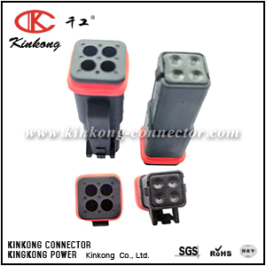 132015-0069C 4 ways female cable connector