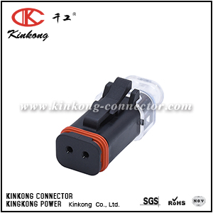 AT06-2S-LED2430 2 ways female LED lamp connector