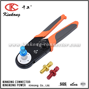 Ratchet Crimper for Detusch Solid Contact Size 12,16,20 applicable to DT,DTP,DTM series CKK-2612D