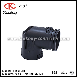 7807400 HINGED 90 DEGREE ELBOW TO SUIT NW17 CONDUIT FLEXIBLE CONVOLUTED CORRUGATED TUBING